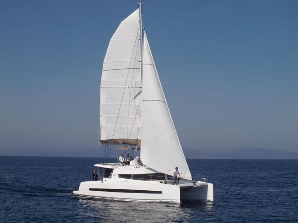 Catana Bali 4.3 between personal and professional Pointe-à-Pitre