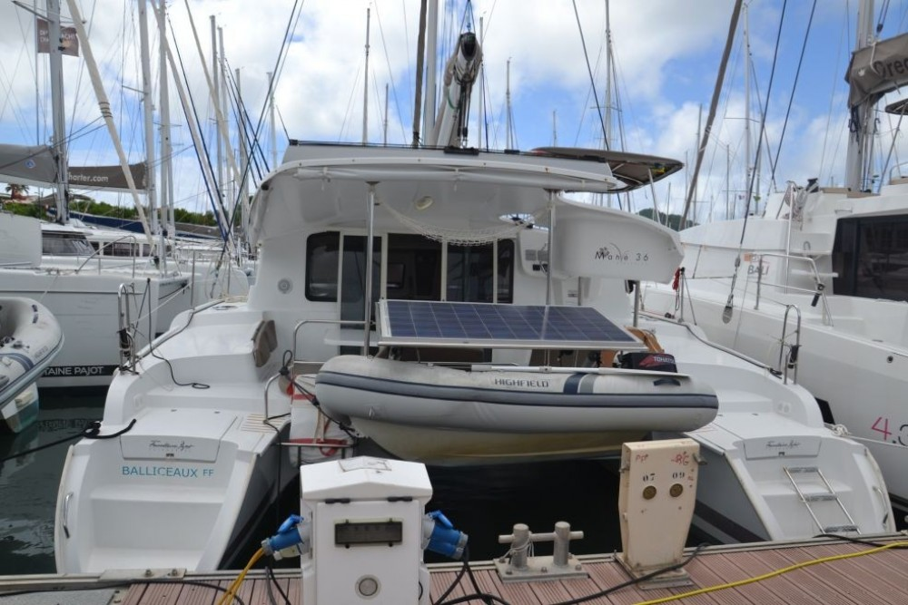 Boat rental Fountaine Pajot Mahe 36 Evolution in Pointe-à-Pitre on Samboat