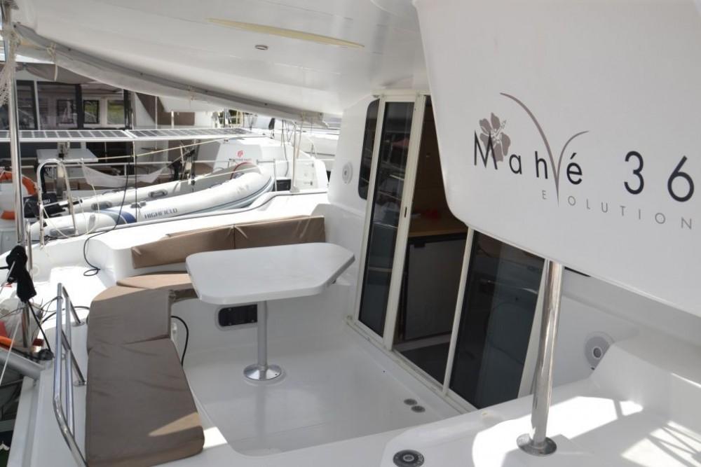 Rental Catamaran in Pointe-à-Pitre - Fountaine Pajot Mahe 36 Evolution
