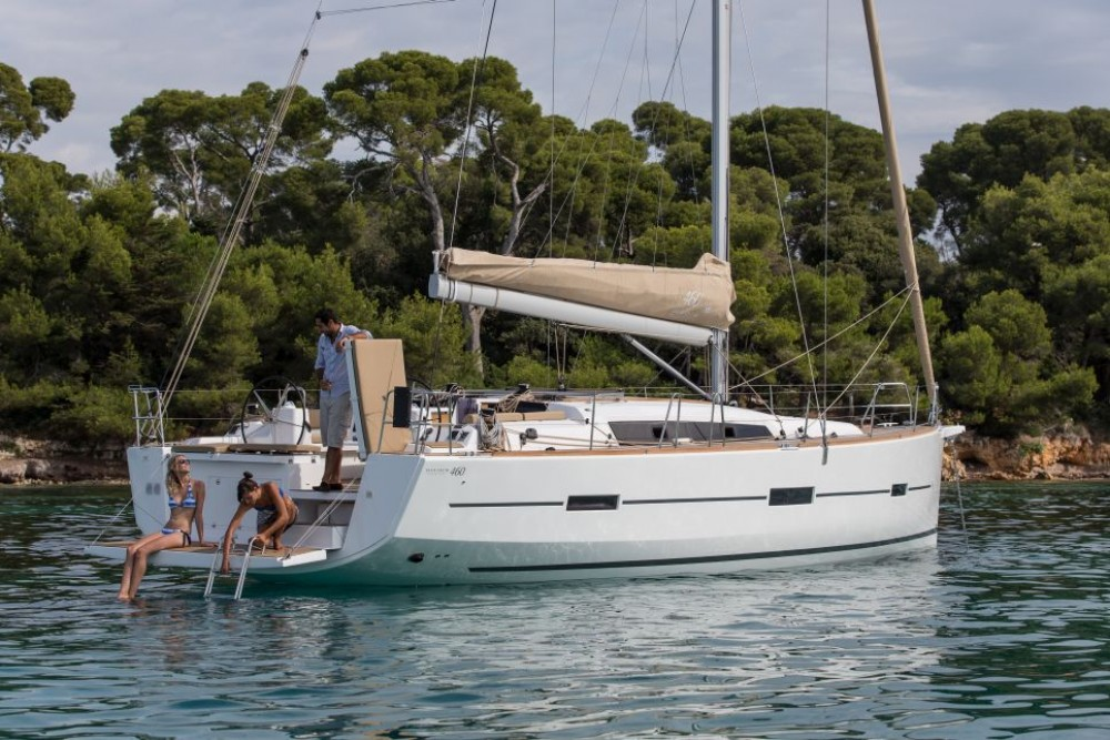 Dufour Dufour 460 between personal and professional Martinique