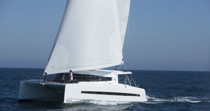 Catana Bali 4.5 between personal and professional Le Marin