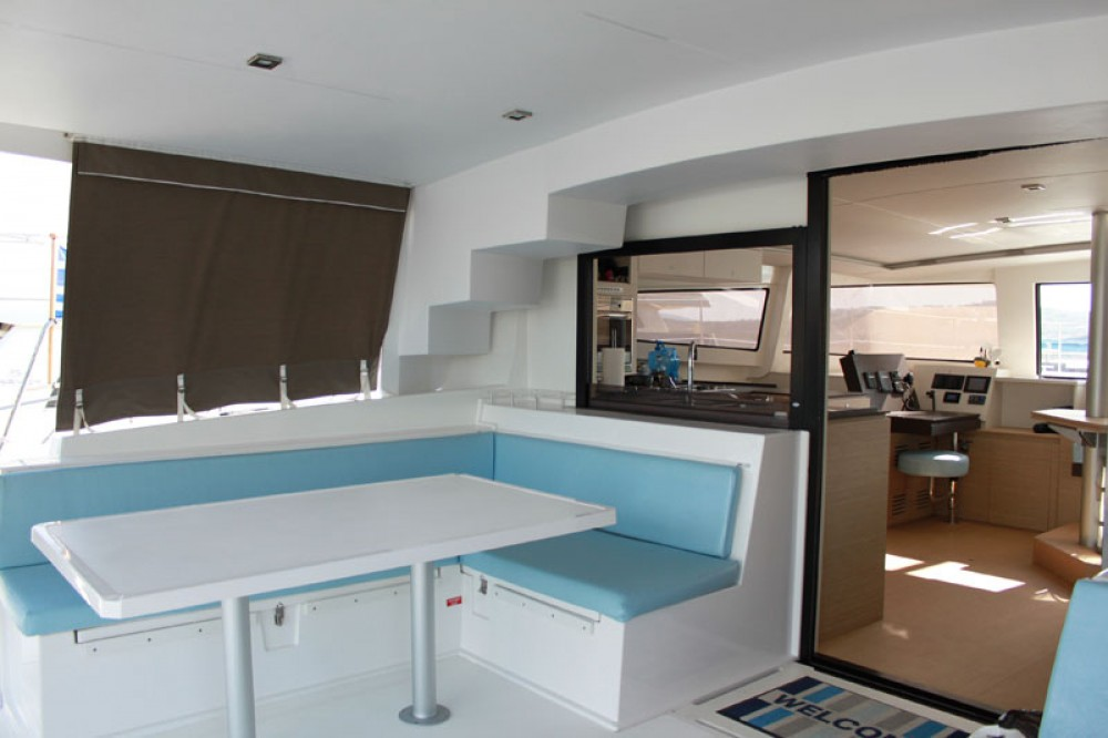 Catana Bali 4.5 between personal and professional Martinique
