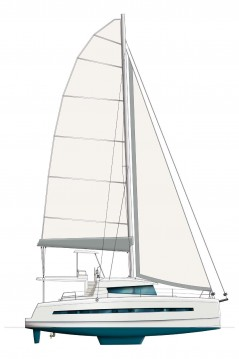 Rental yacht Le Marin - Catana Bali 4.3 on SamBoat