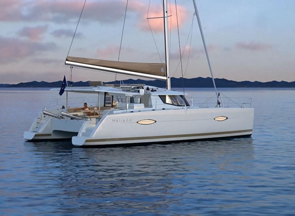 Boat rental Martinique cheap Helia 44