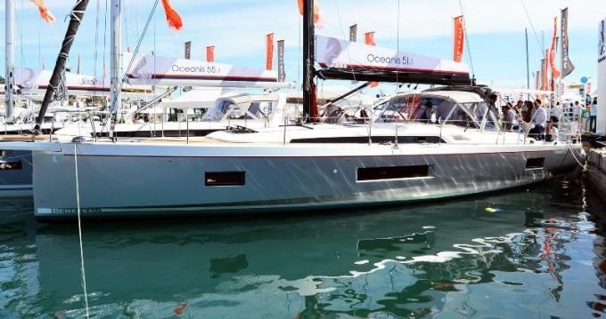 Boat rental Le Marin cheap Oceanis 51.1