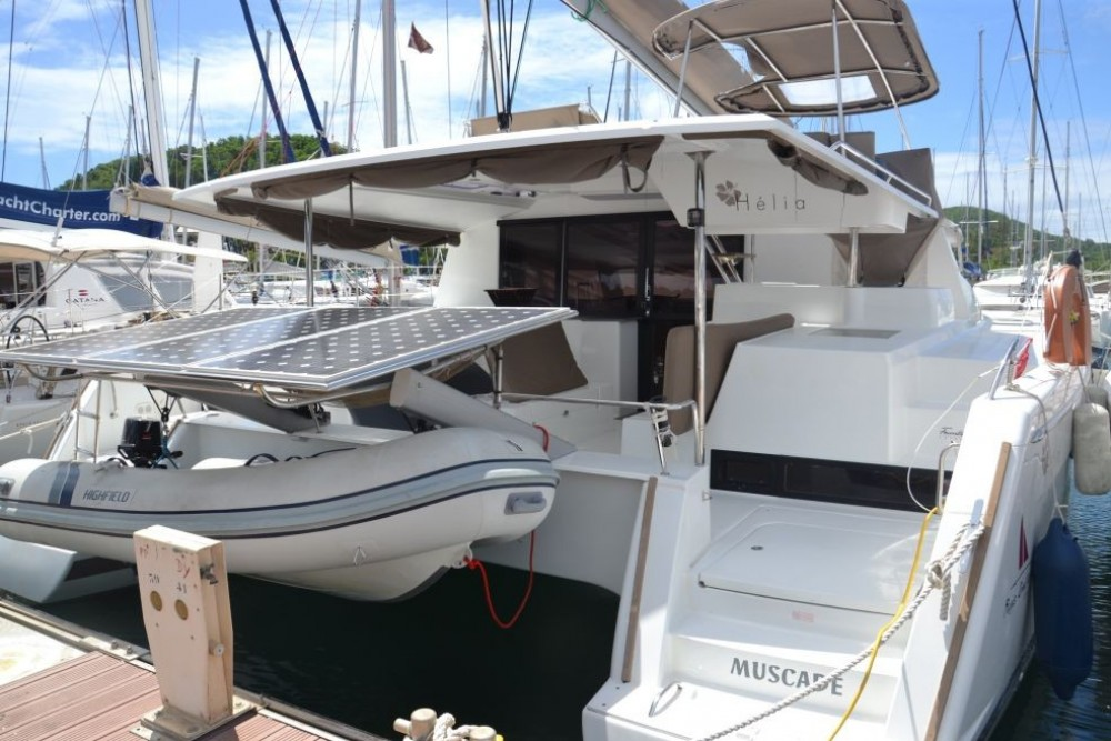 Catamaran for rent Martinique at the best price