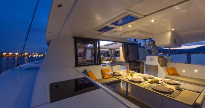 Fountaine Pajot Helia 44 between personal and professional Le Marin