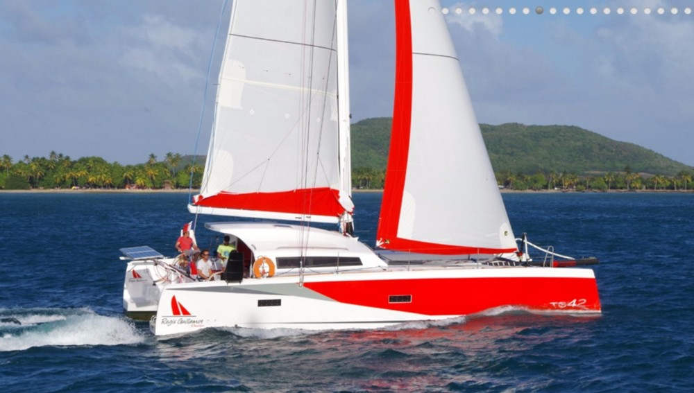 Rental Catamaran in Martinique - Marsaudon Composites TS 42