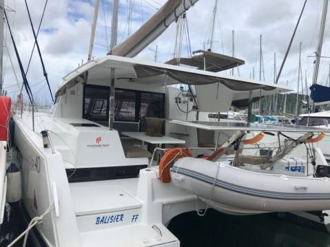 Boat rental Le Marin cheap Fountaine Pajot