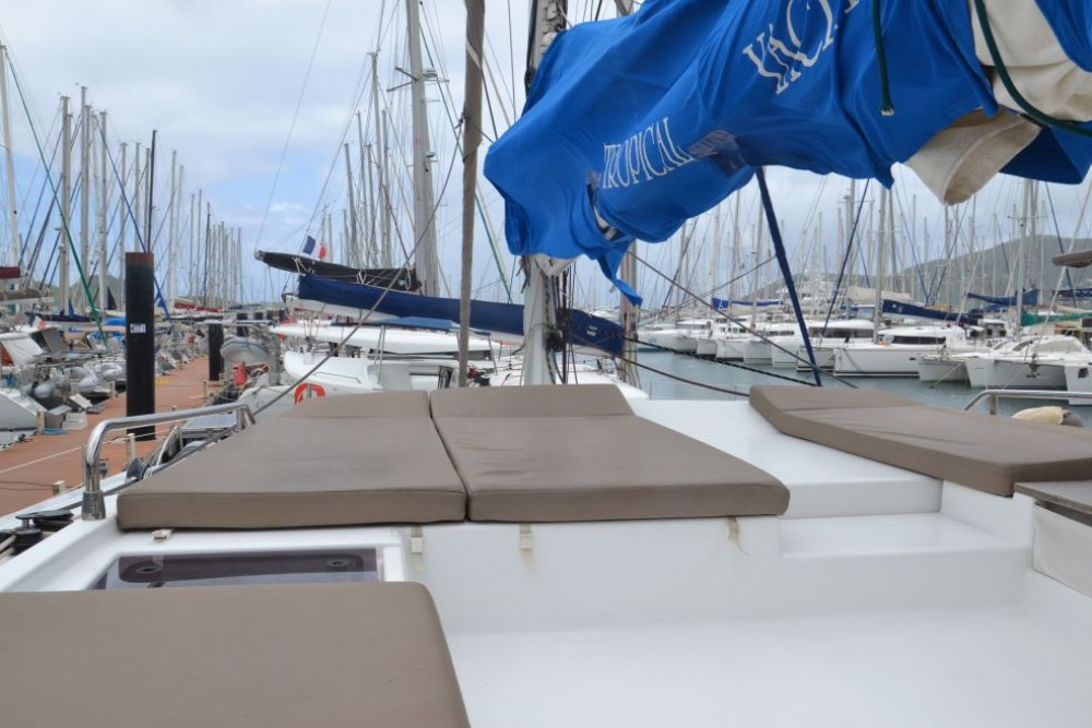 Fountaine Pajot Saba 50 between personal and professional Martinique