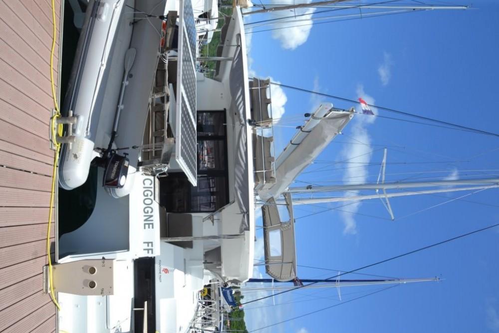 Boat rental Fountaine Pajot Saona 47 in Martinique on Samboat