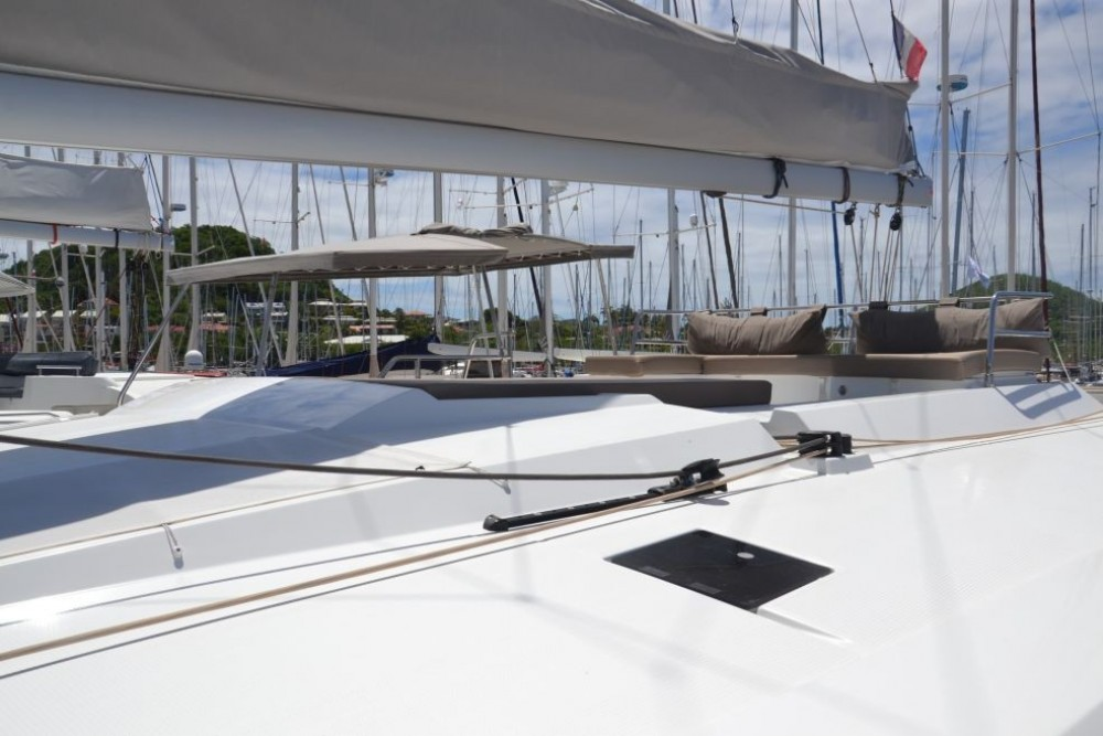 Rental Catamaran in Martinique - Fountaine Pajot Saona 47