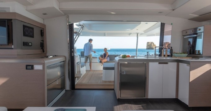 Rent a Fountaine Pajot Elba 45