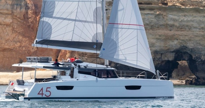 Rental yacht  - Fountaine Pajot Elba 45 on SamBoat