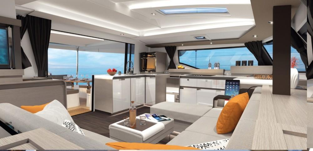Boat rental Rodney Bay Marina cheap Elba 45
