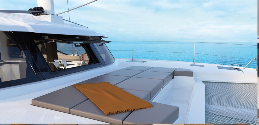 Fountaine Pajot Elba 45 between personal and professional Bois D'orange