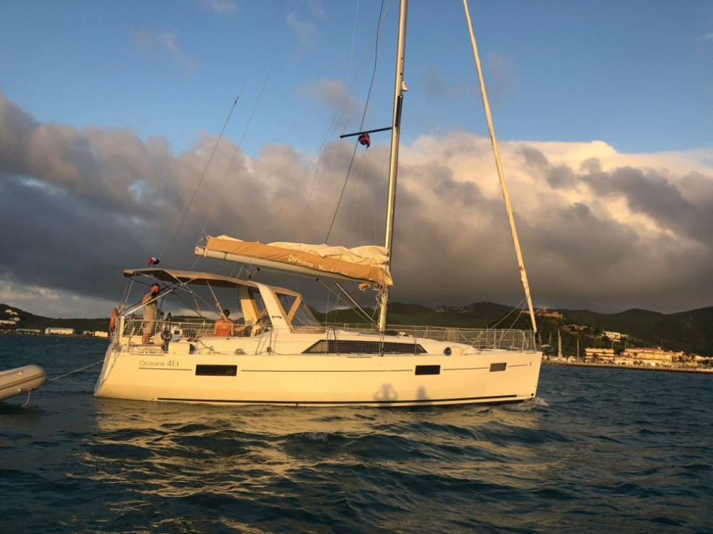 Bénéteau Oceanis 41.1 between personal and professional Rodney Bay Marina