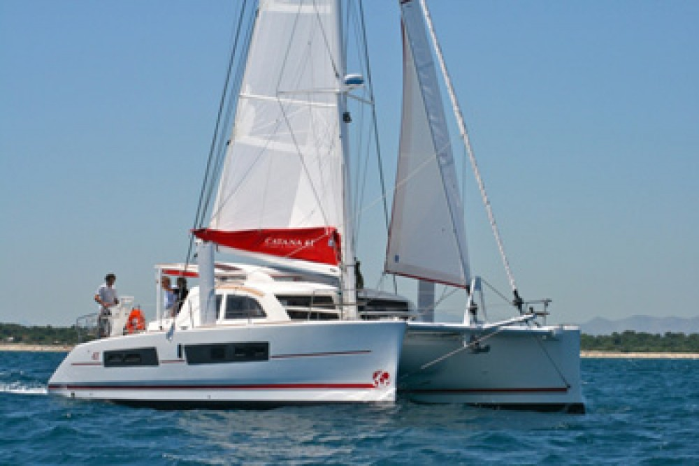 Catana Catana 42 Carbon Infusion between personal and professional Rodney Bay Marina