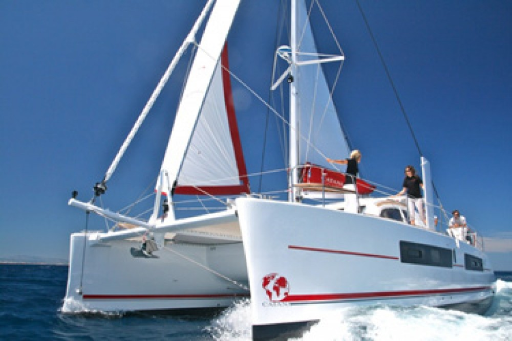 Rental Catamaran in Rodney Bay Marina - Catana Catana 42 Carbon Infusion