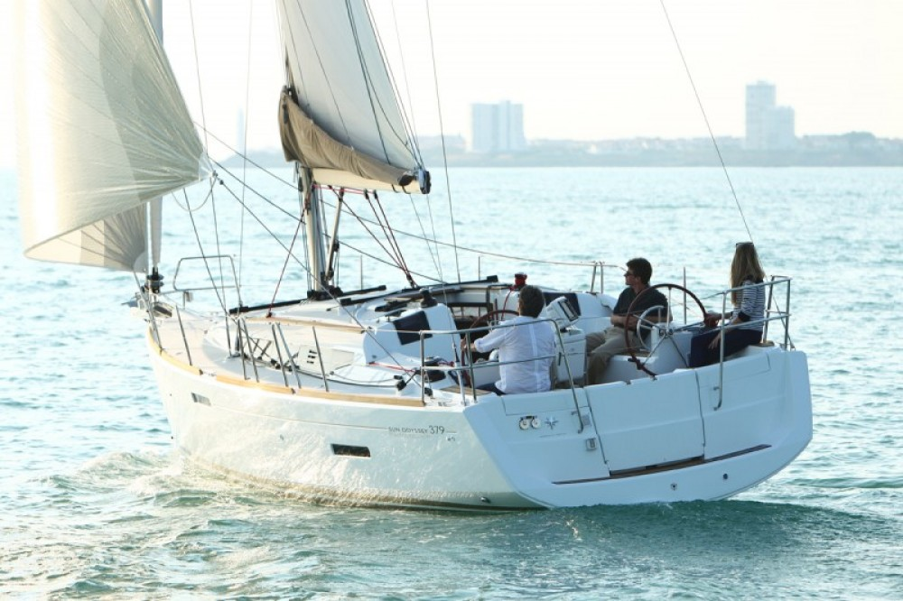 Jeanneau Sun Odyssey 379 between personal and professional Rodney Bay Marina