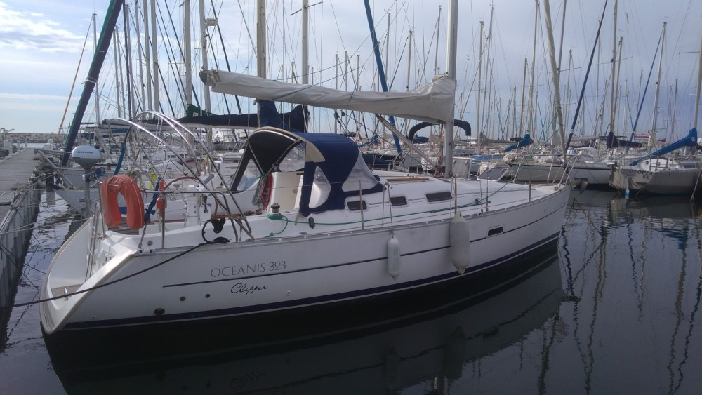 Rental Sailboat Oceanis with a permit