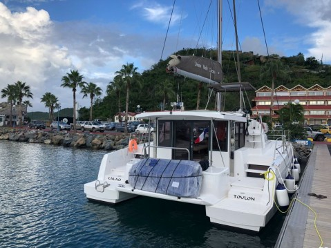 Hire Catamaran with or without skipper Bali Catamarans Saint Martin (France)