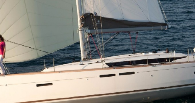 Jeanneau Sun Odyssey 419 between personal and professional Saint Martin