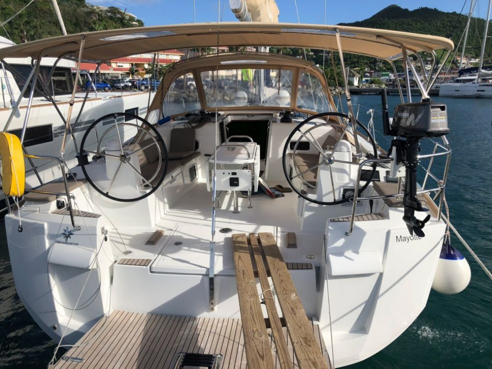 Boat rental Saint Martin (France) cheap Sun Odyssey 519