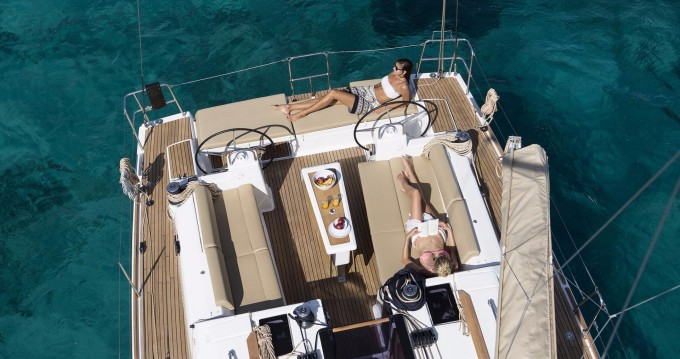 Boat rental Saint Martin cheap Dufour 460 Grand Large