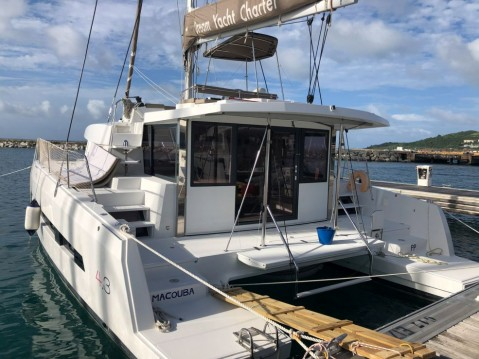 Catamaran for rent Saint Martin at the best price