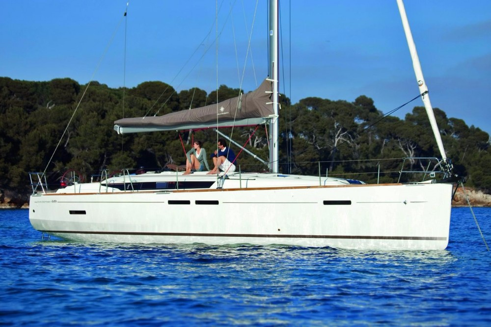 Jeanneau Sun Odyssey 449 between personal and professional Saint Martin (France)