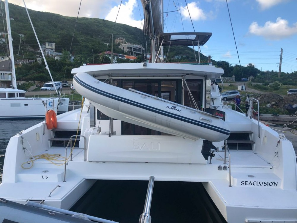 Bali Catamarans Bali 4.0 between personal and professional Saint-Martin (France)