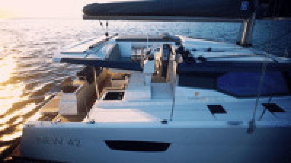 Fountaine Pajot Astrea 42 between personal and professional Arnos Vale