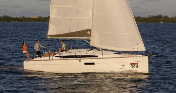 Rental Sailboat in Arnos Vale - Jeanneau Sun Odyssey 349
