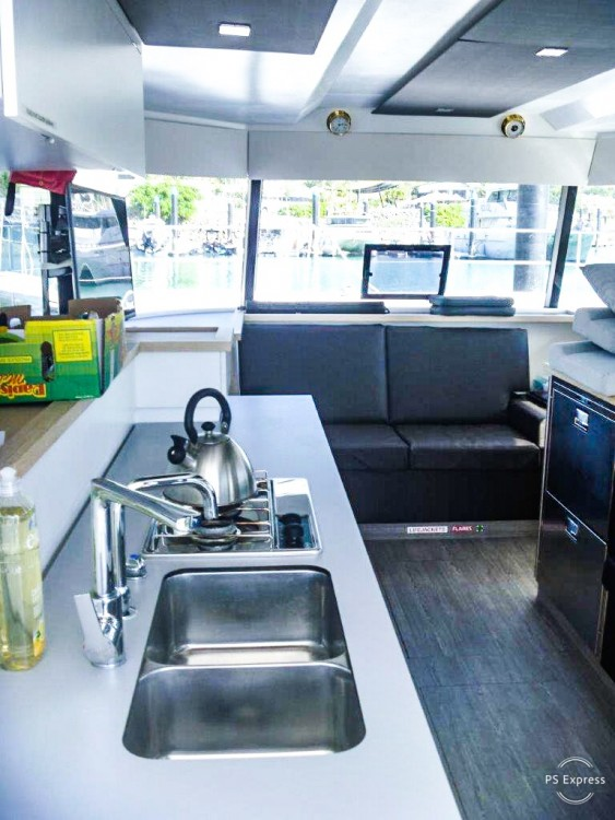 Fountaine Pajot MAESTRO 37 between personal and professional La Paz