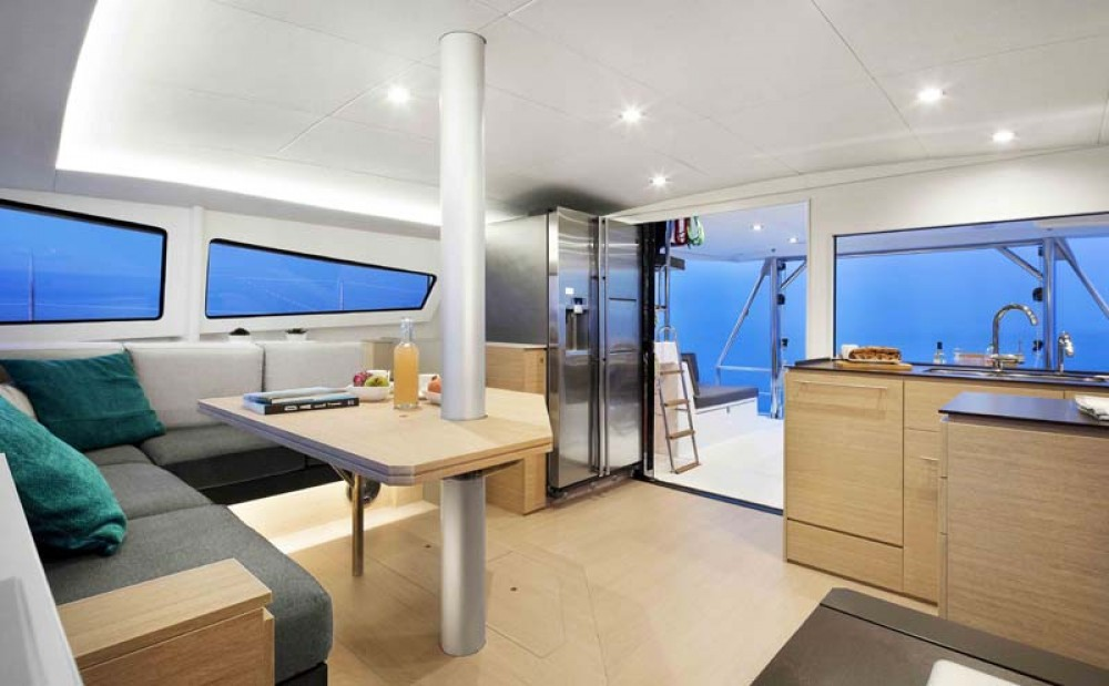 Hire Catamaran with or without skipper Catana La Paz
