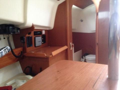 Jeanneau Sun 2500 between personal and professional La Rochelle