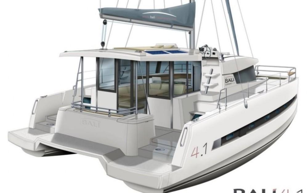 Rent a Bali Catamarans Bali 4.1 Owner Version Baie Sainte Anne
