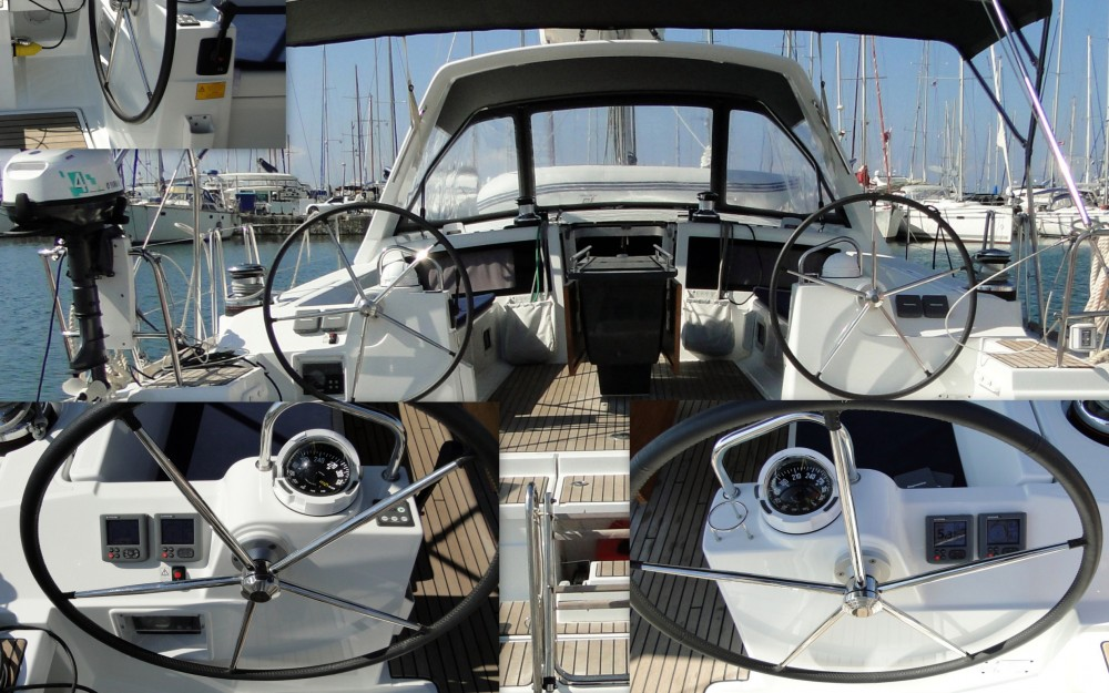 Boat rental Ajaccio cheap Oceanis 48