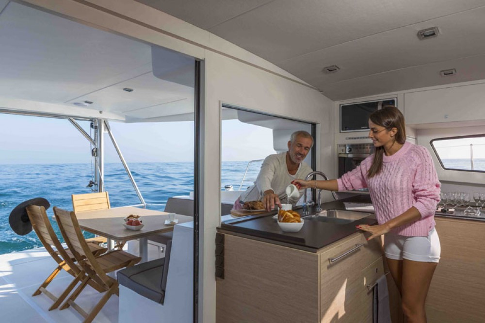Rental Catamaran in Baie Sainte Anne - Catana Bali 4.5