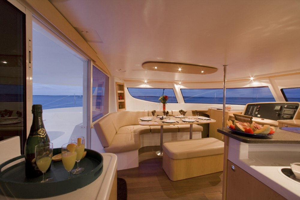 Fountaine Pajot Salina 48 between personal and professional Ajaccio