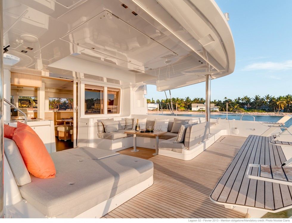 Boat rental Propriano cheap Lagoon 52