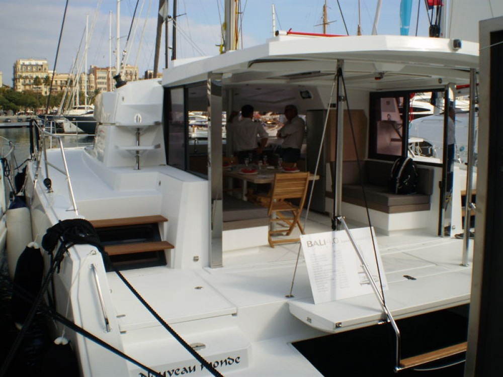 Hire Catamaran with or without skipper Bali Catamarans Propriano