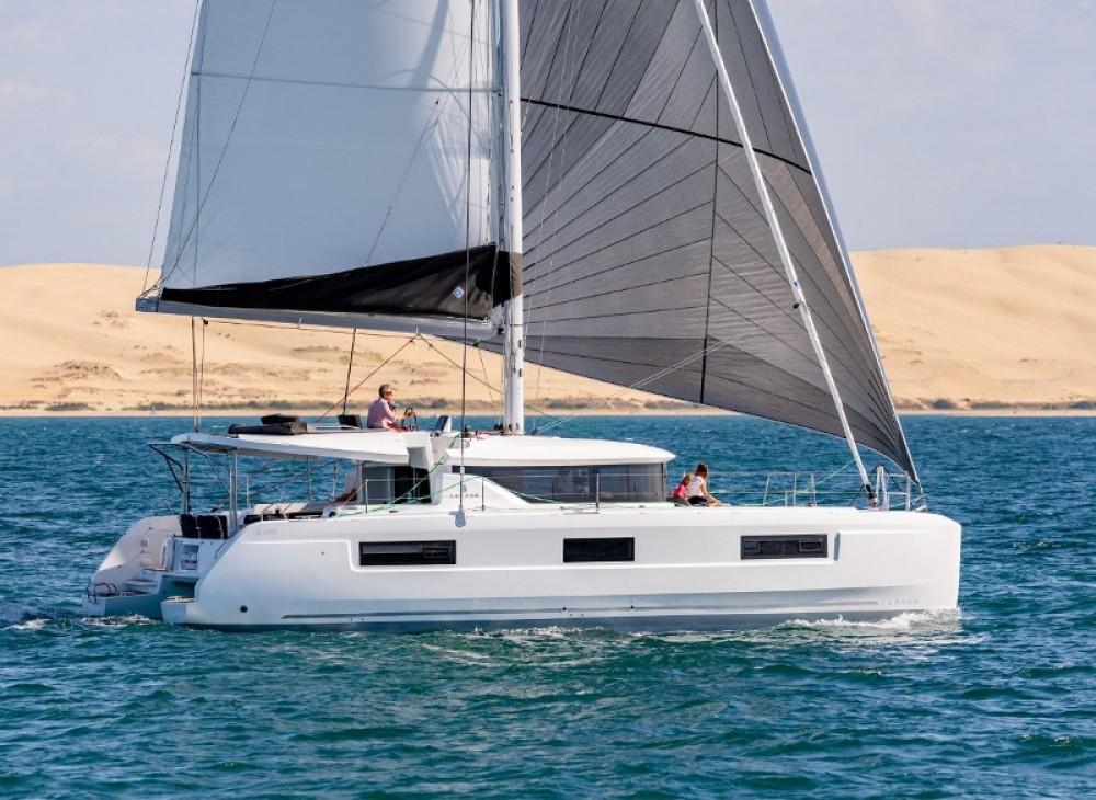 Hire Catamaran with or without skipper  Baie Sainte Anne