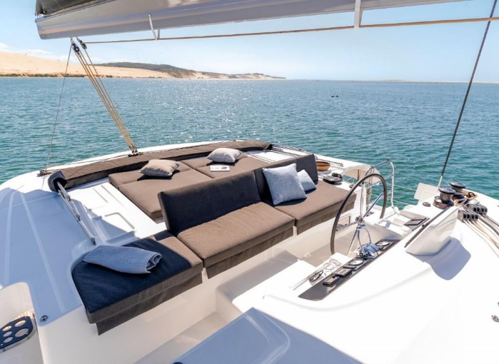 Rental Catamaran  with a permit