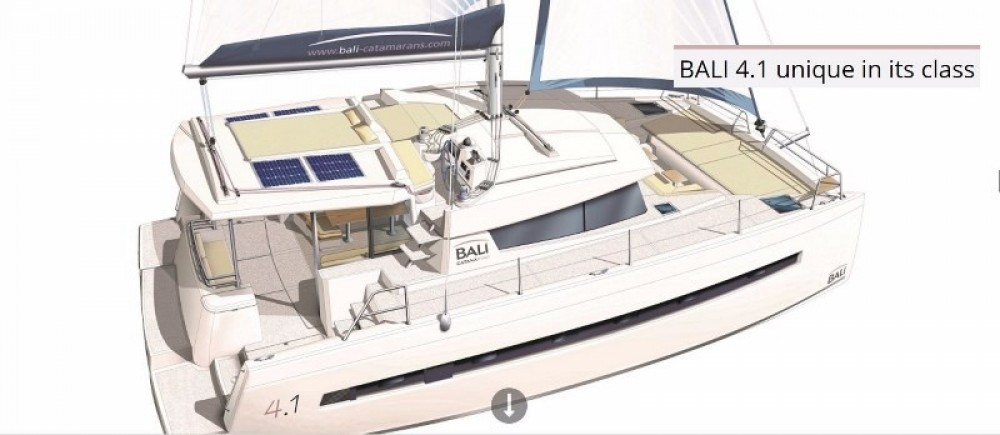 Rental yacht Baie Sainte Anne - Bali Catamarans Bali 4.1 on SamBoat