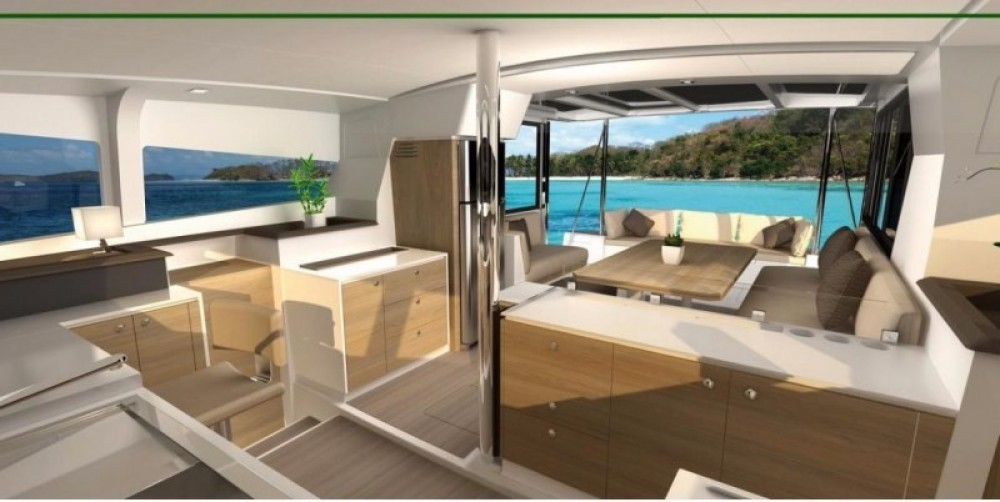 Bali Catamarans Bali 4.1 between personal and professional Baie Sainte Anne