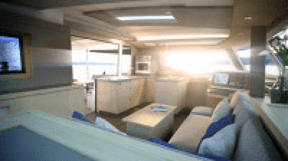 Fountaine Pajot Astrea 42 between personal and professional Ajaccio