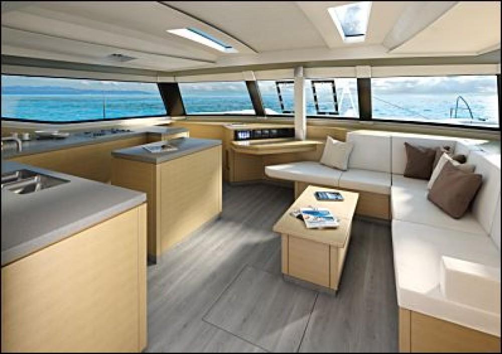 Rental Catamaran in  - Fountaine Pajot Saba 50