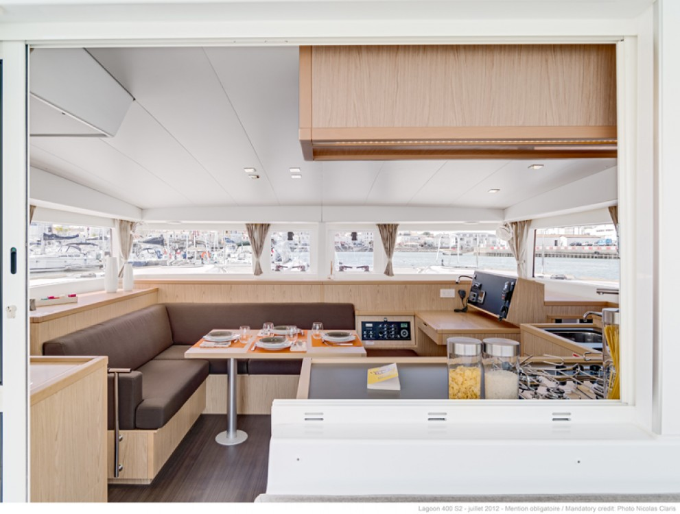 Boat rental Ajaccio cheap Lagoon 400 S2